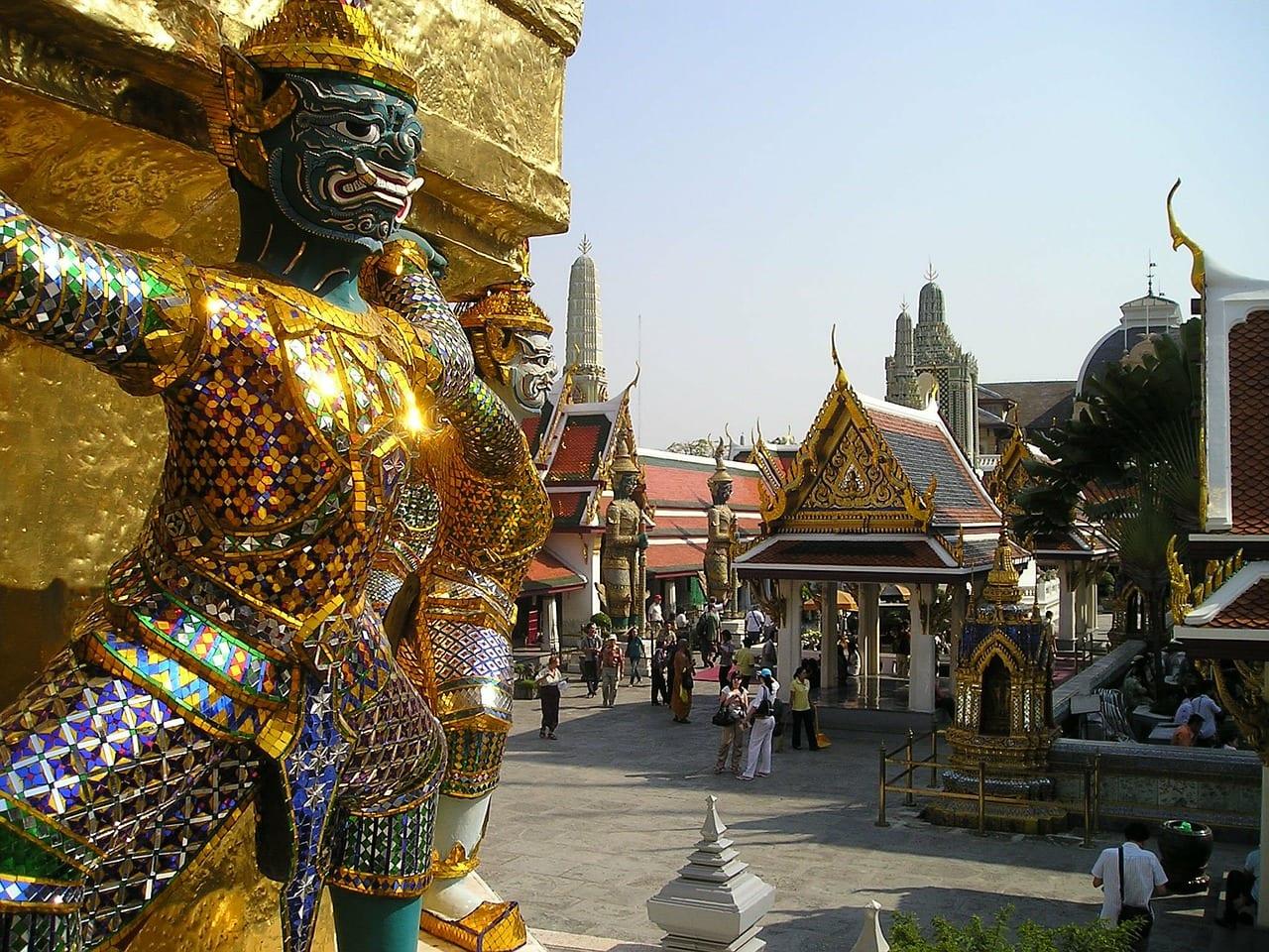 Visit the Grand Palace during your 2 day Bangkok itinerary.
