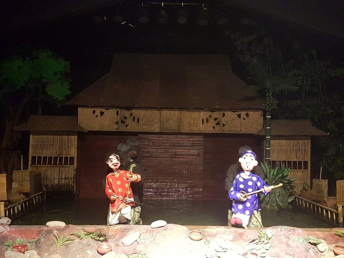 Water Puppet Theater in Hanoi, Vietnam