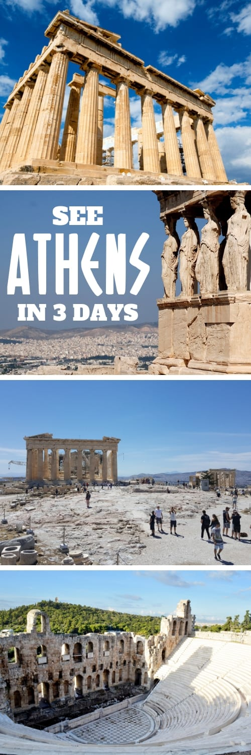 3 Days in Athens - Here are the best things to do in Athens, Greece, in 3 days. Find out about the best places to see and what to do plus important travel tips for Athens. I Athens itinerary I Best Athens 3-day itinerary I 3 days in Athens