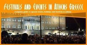 A complete guide to special events, holidays and festivals in Athens