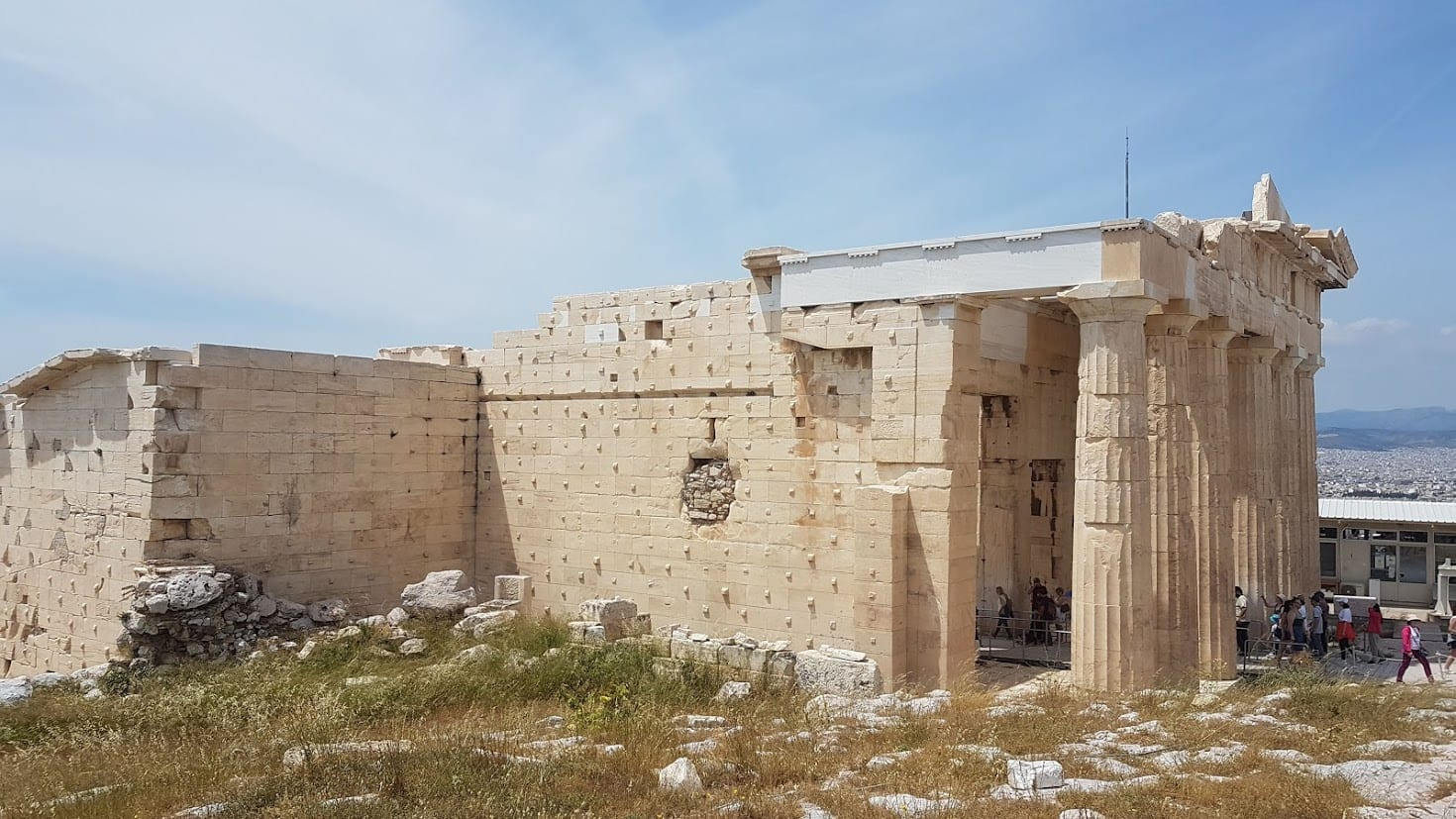 The Acropolis Gateway in Athens