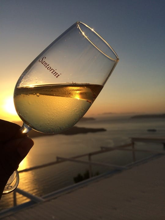 Make sure to try a wine tastng tour when spending 3 Days in Santorini Greece For A Dream Vacation