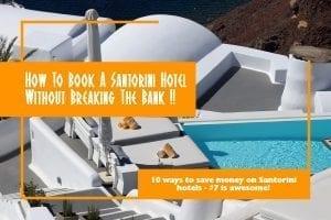 10 ways to save money on Santorini hotels