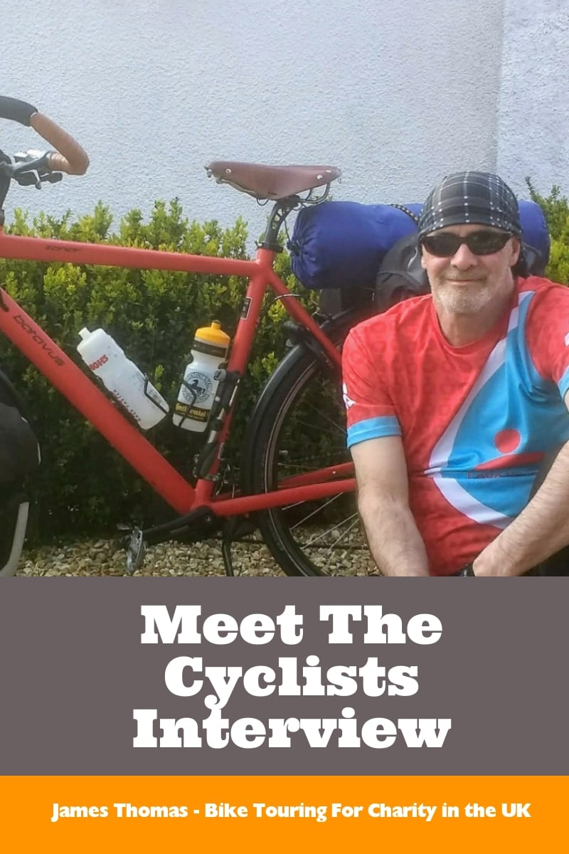 Meet The Cyclists Interview with James Thomas