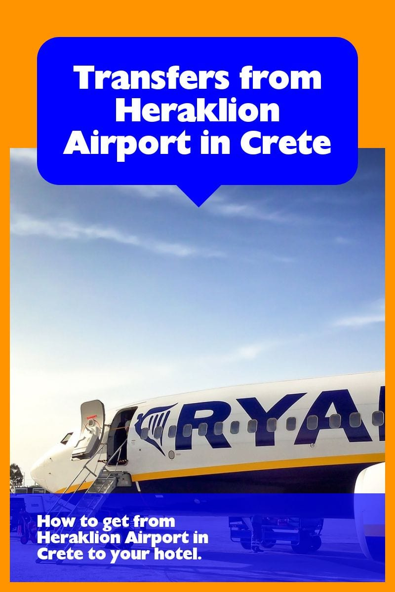Transfers from Heraklion Airport to Rethymnon, Chania, and Beyond