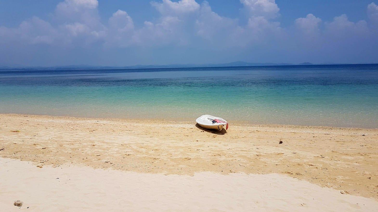 Kayaking in Pulau Kapas