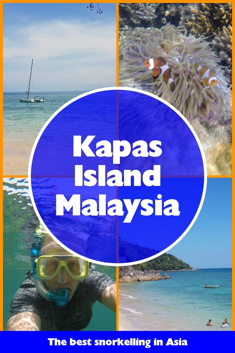 Kapas island Malaysia - The best snorkelling in Asia