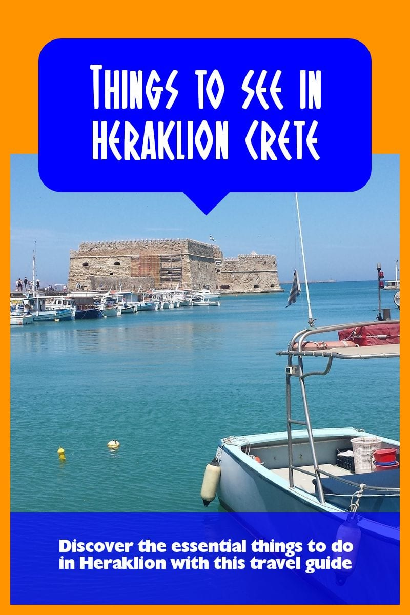 A guide to the best things to see in Heraklion, Crete.