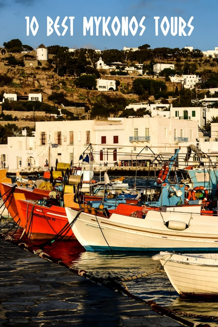 Mykonos Day Tour Ideas: The 10 Best Mykonos Tours