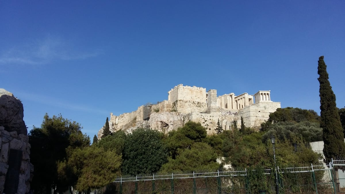 First time visitors to Athens should visit the Acropolis.