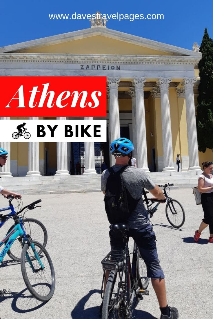 Explore Athens by bike to see a different side to the city