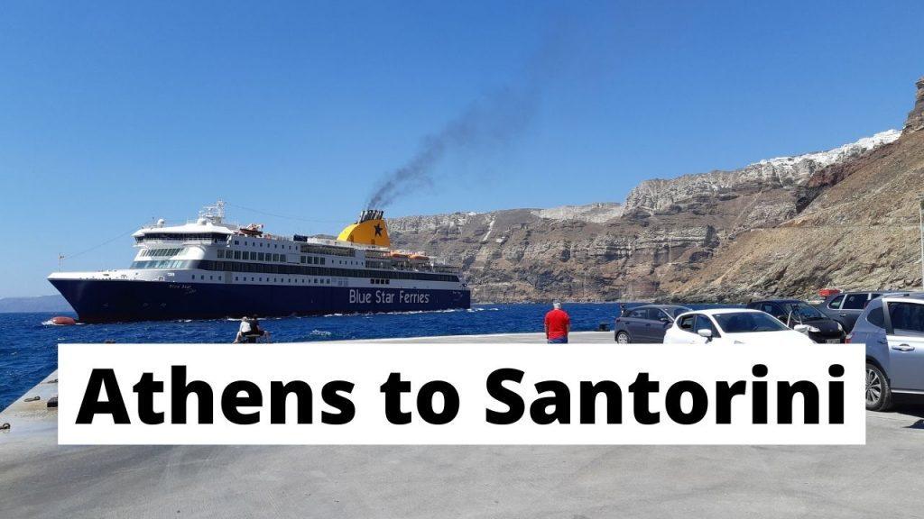 Athens to Santorini travel guide