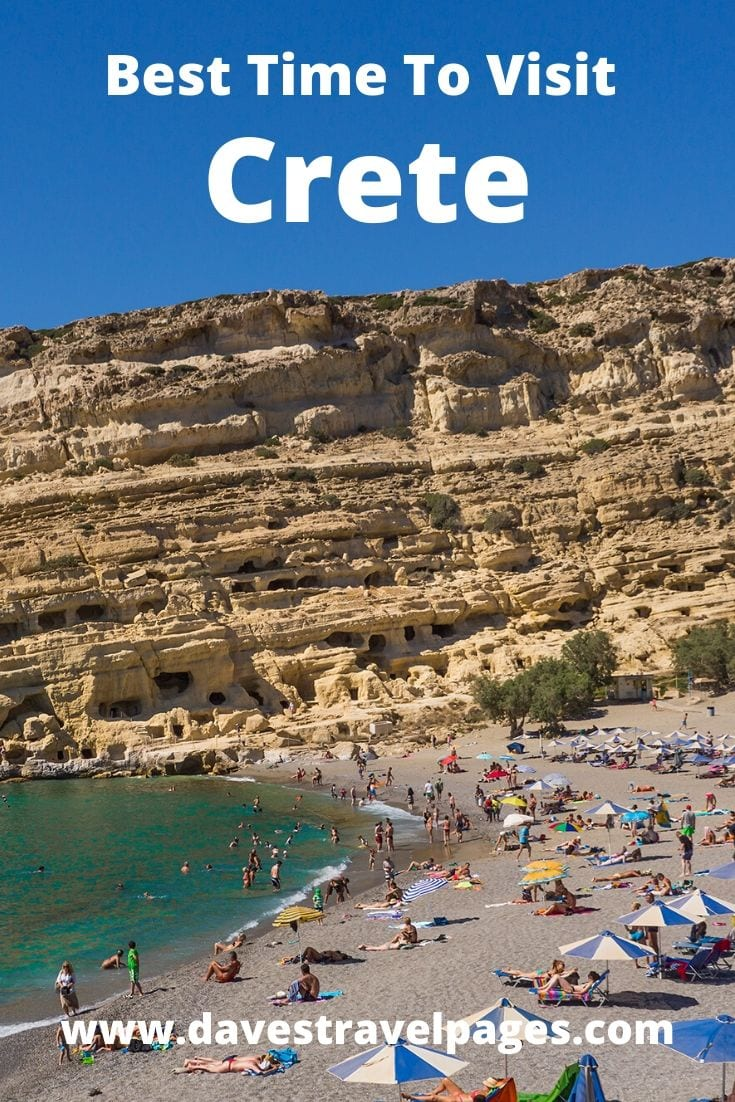 Best time to visit Crete in Greece