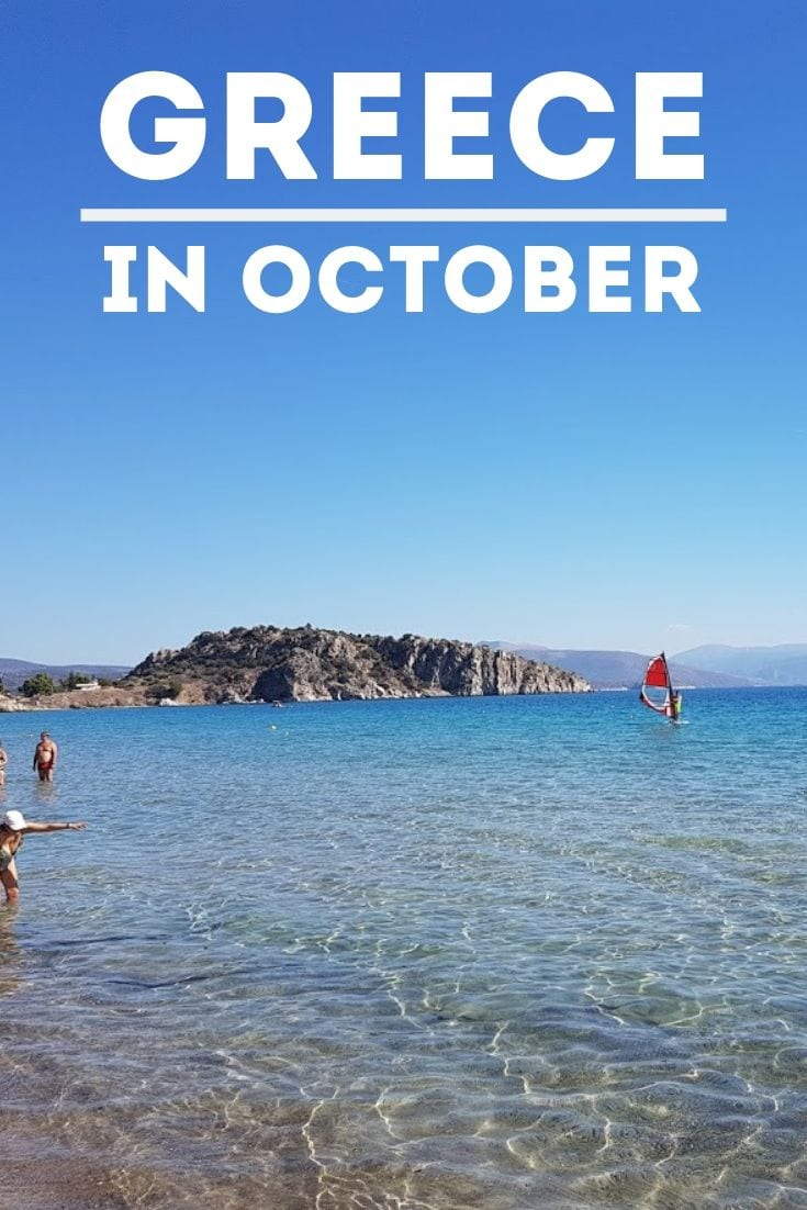 A guide to visiting Greece in October.