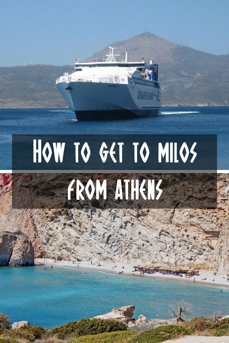 The easy way to take the ferry from Athens to Milos