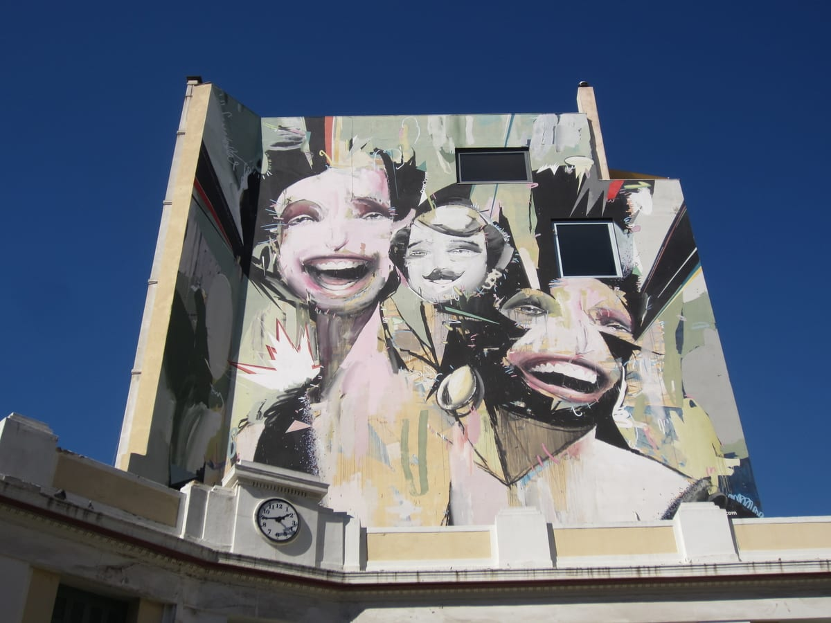 Make sure to check out the street art in Athens when visiting in the winter months.