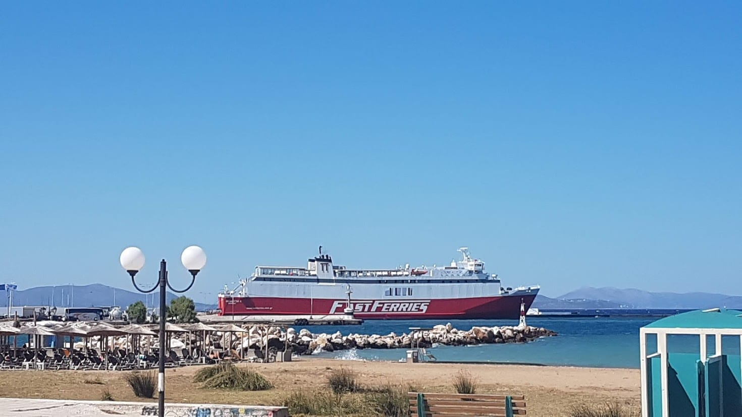 Fast Ferries in Greece sail to Mykonos from Athens