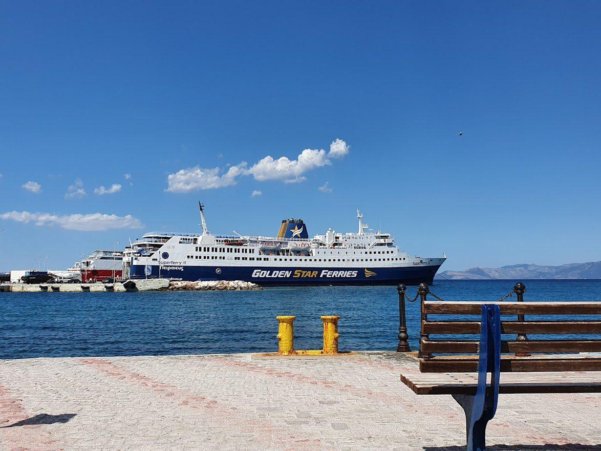 Golden Star Ferries at Rafina Port