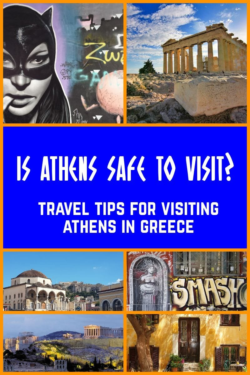Is Athens safe to visit? Travel tips for visiting Athens in Greece.