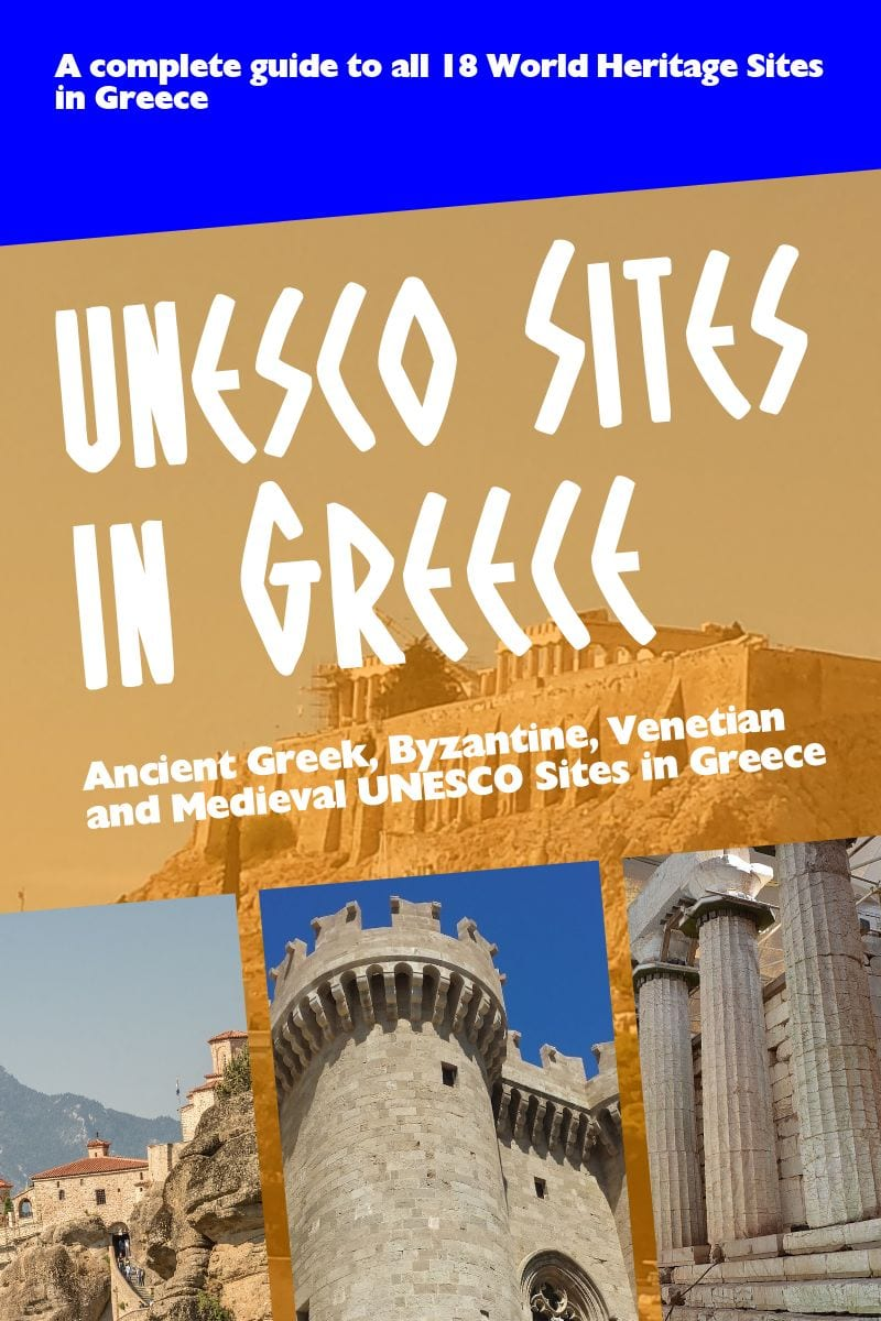 A complete list of all the UNESCO sites in Greece
