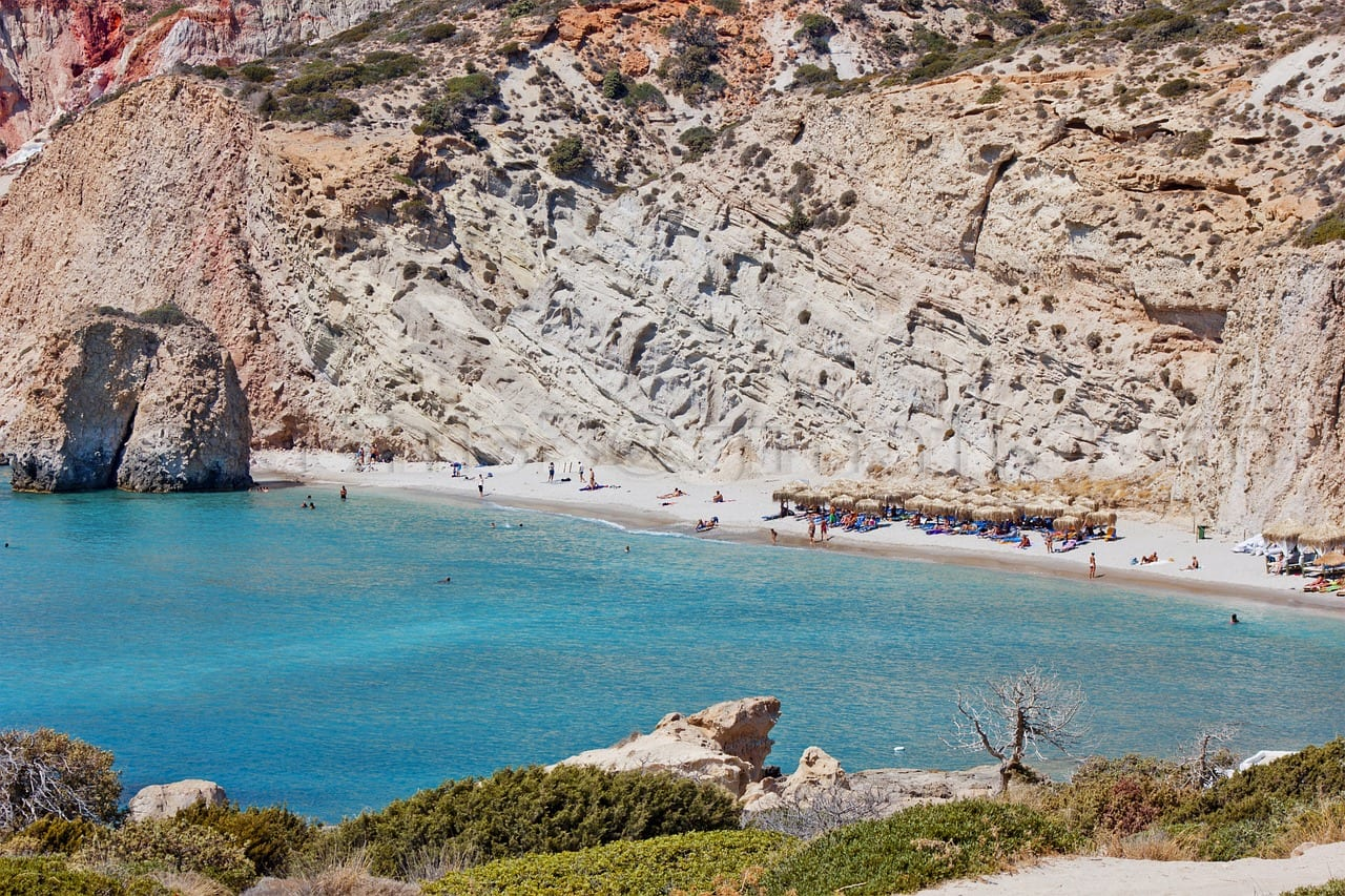 How to get to Milos in Greece so you can check out the incredible beaches