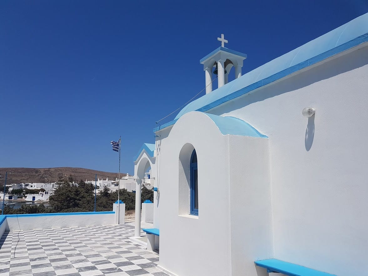 Agios Nikolaos in Pollonia Milos