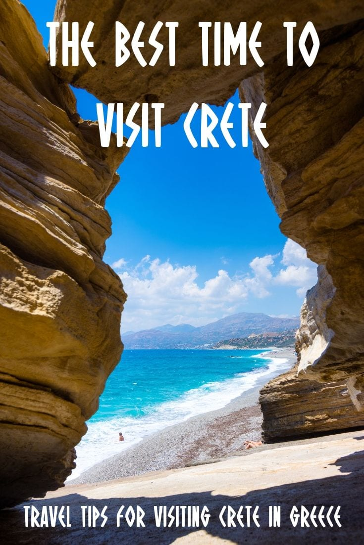 The best time to visit Crete in Greece. Travel tips on planning a holiday in Crete.