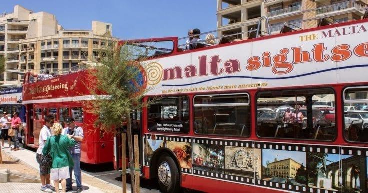 Hop-On Hop-Off Malta Bus Tour