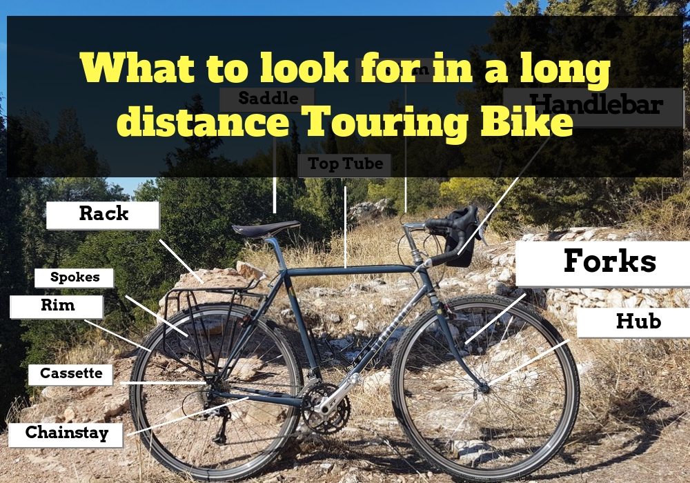 What to look for in a long distance touring bike