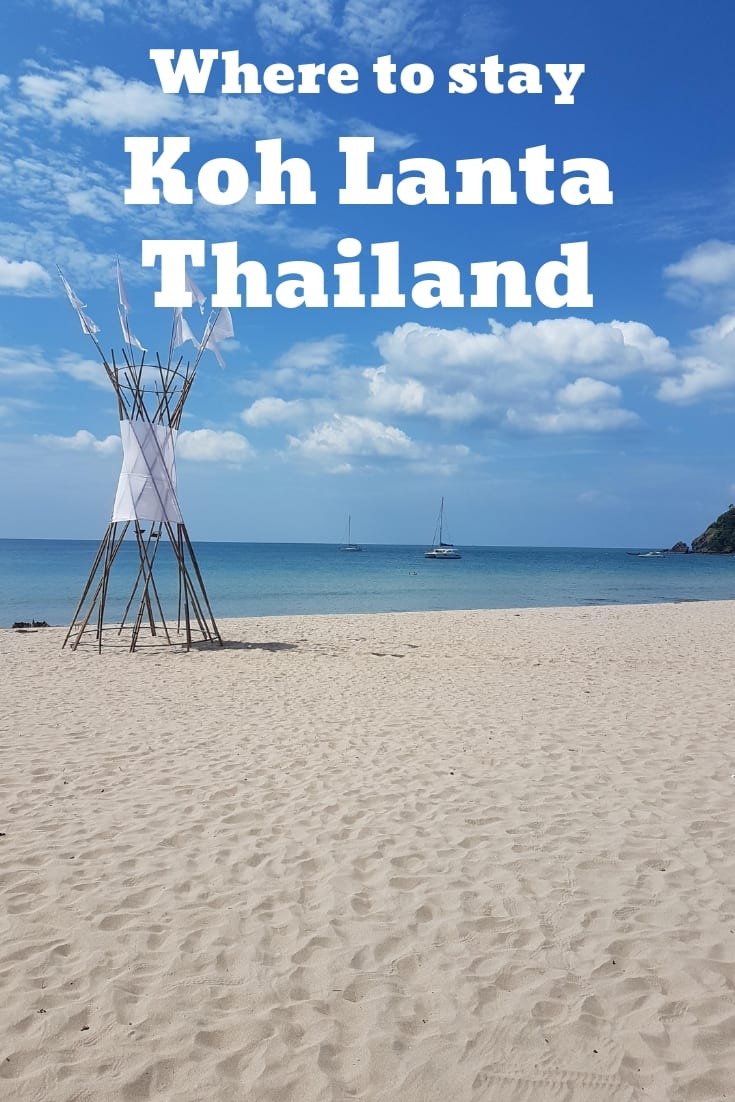 Where to stay in Koh Lanta, Thailand