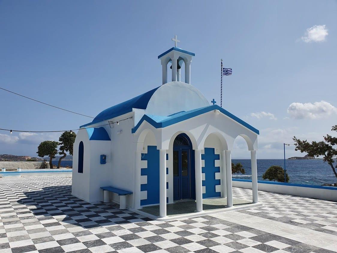 Agios Nikolaos in Milos Greece