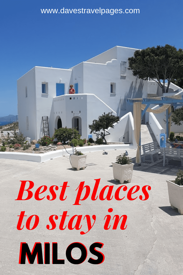 A travel guide to the best places to stay in Milos