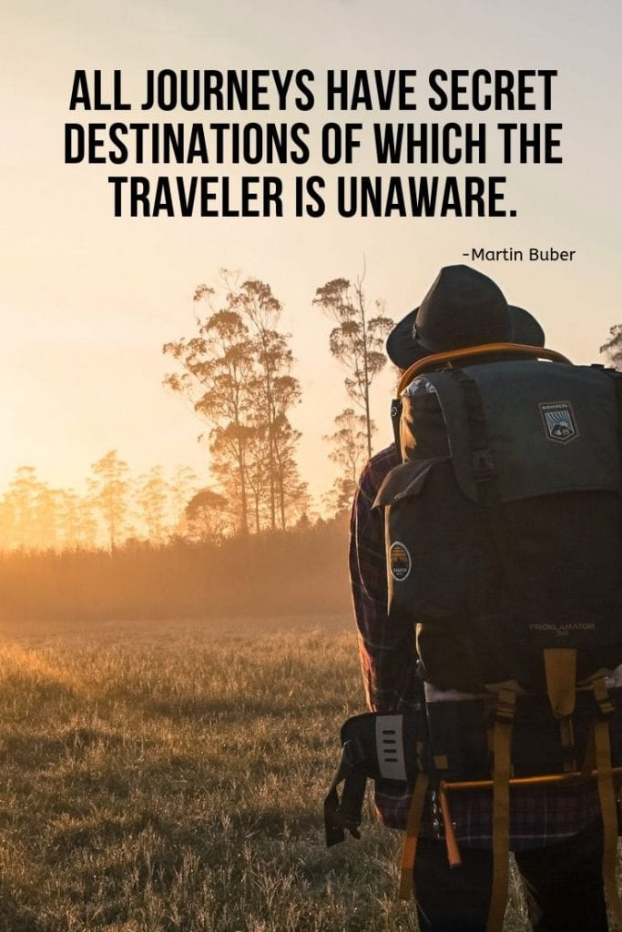 Explore Quotes - All journeys have secret destinations of which the traveler is unaware.