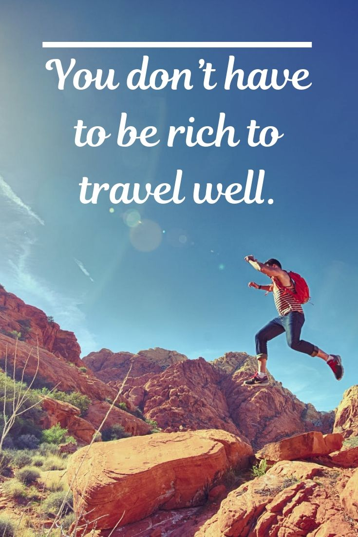 A travel quote to inpsire your travel adventures