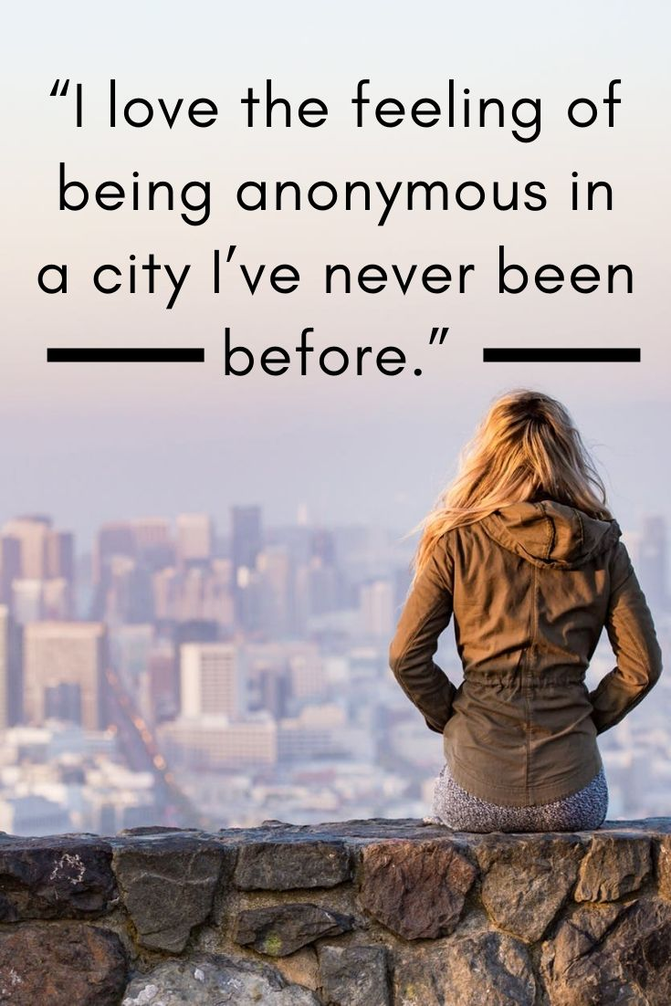 City travel quotes