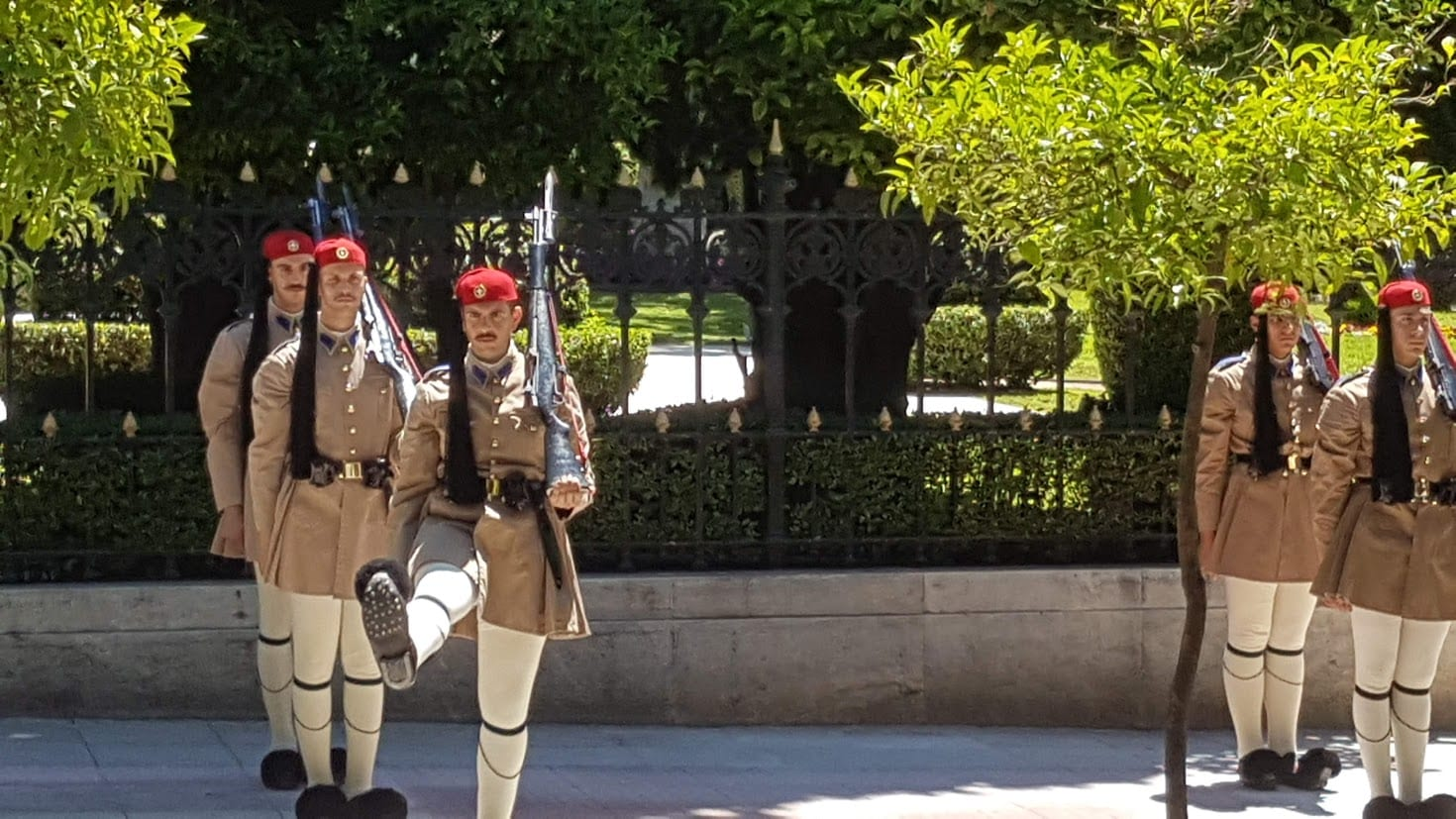 Changing of the Presidential Guards in Athens Greece