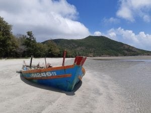 The beaches in Con Dao
