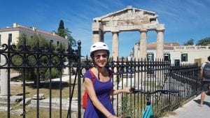 Cycling in Athens center