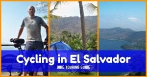 Bike touring in El Salvador