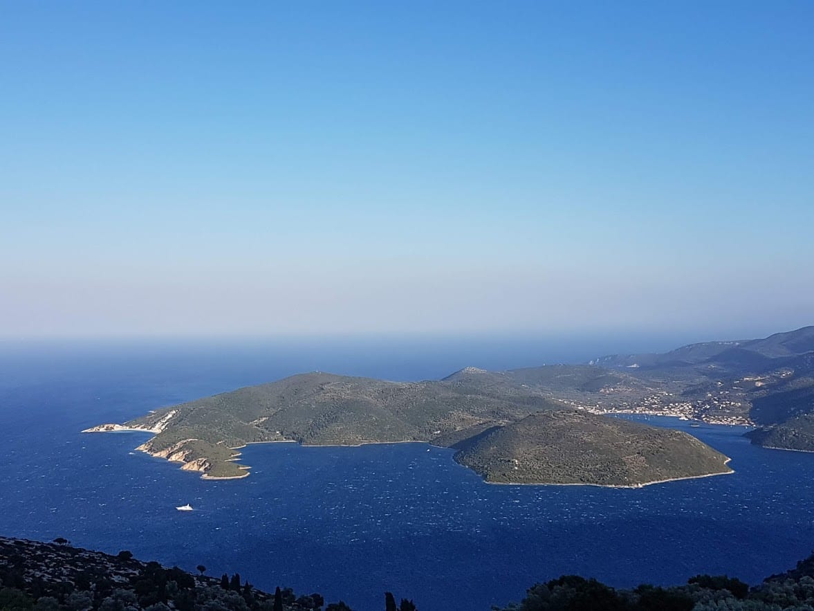 A view over Ithaca Greece
