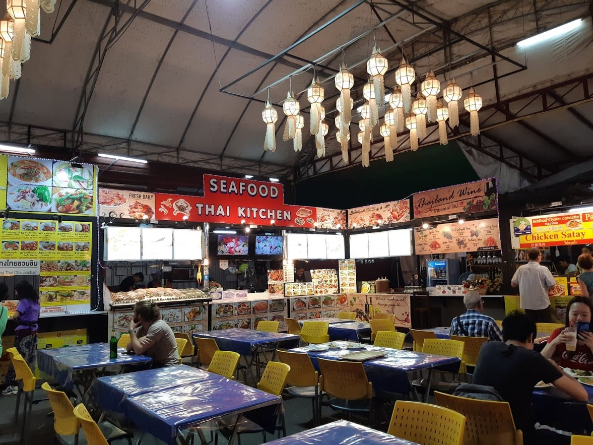 Food courts in Chiang Mai