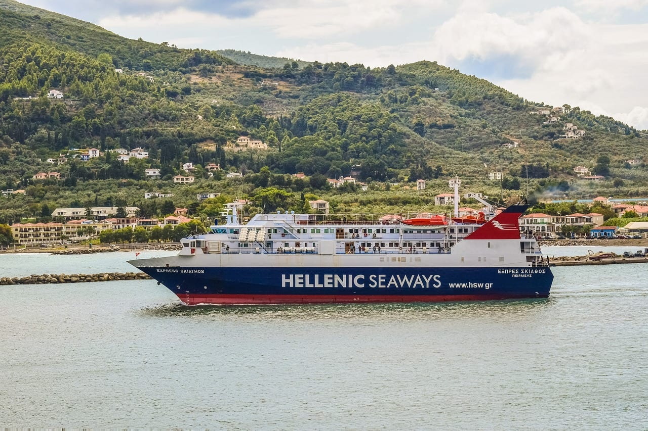 Hellenic Seaways is a ferry company that operates out of Piraeus port in Athens