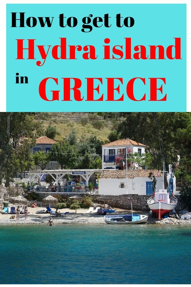 How to get to Hydra island in Greece from Athens