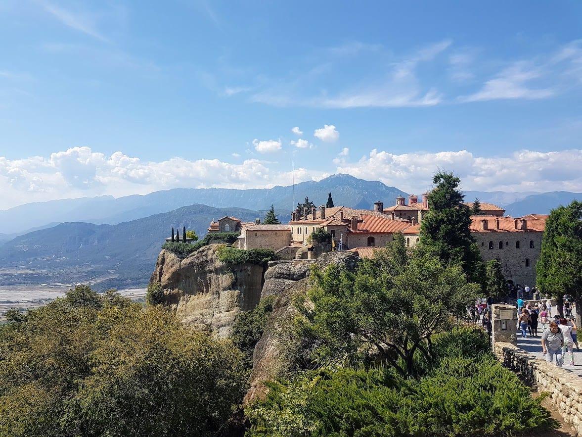 Monastery in Meteora Greece