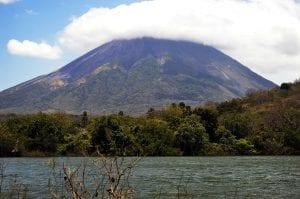Volcano Ometepe in Nicaragua