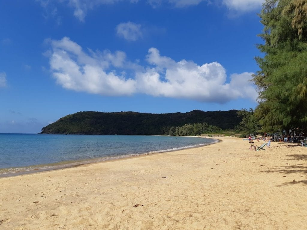 A perfect beach in Con Dao