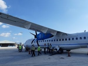 Taking the plane to Con Dao