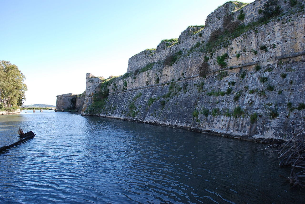 Santa Maura Castle in Lefkada