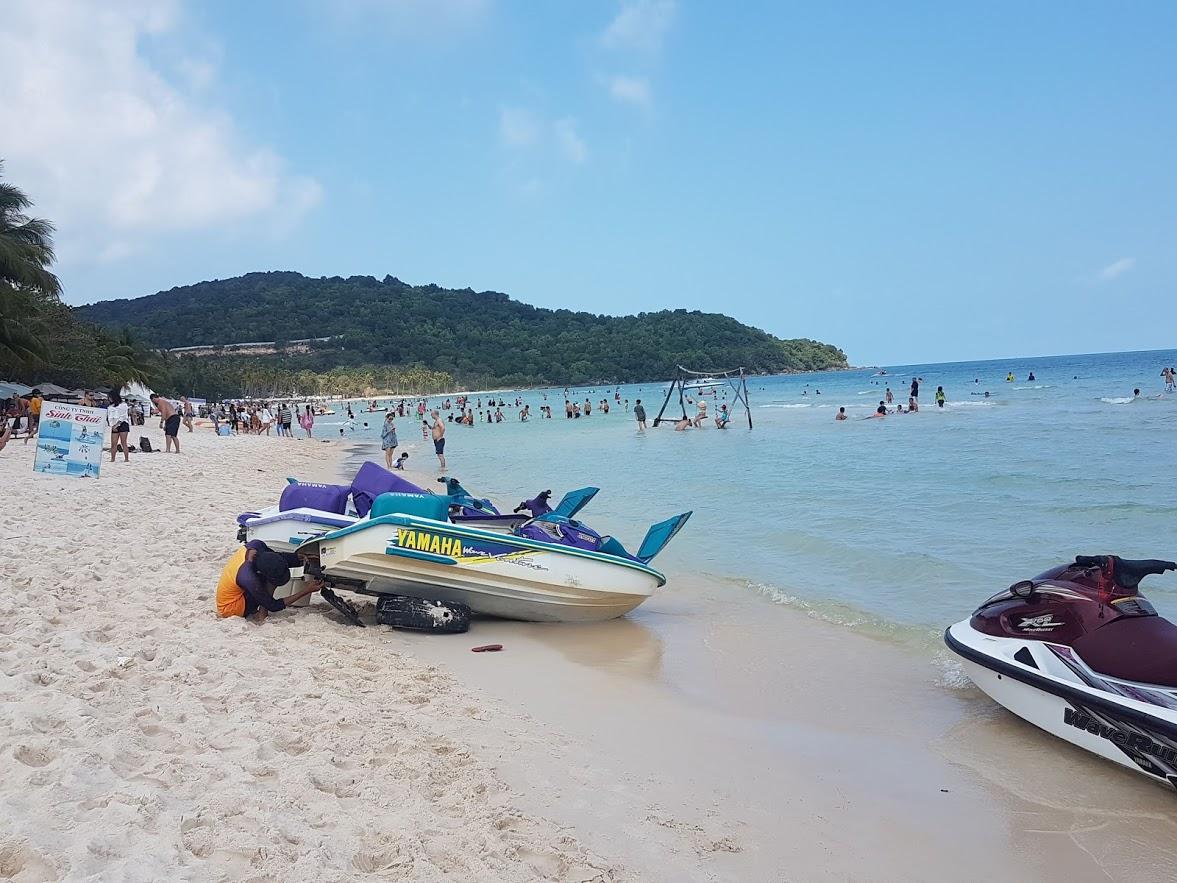 Sao beach in Vietnam