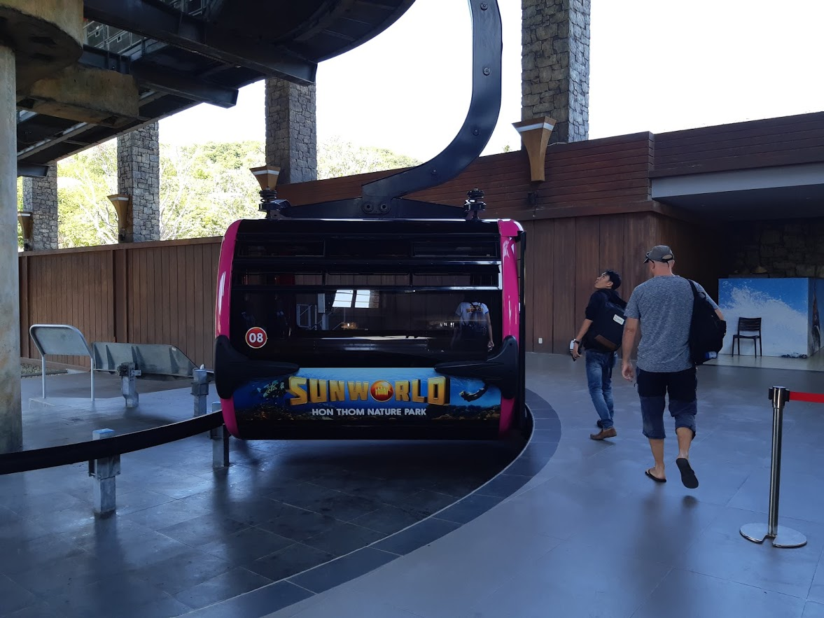 The Sunworld Cable Car in Phu Quoc